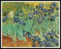 The Irises - Cross Stitch Chart