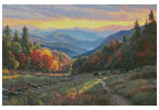 The Light of Evening - Cross Stitch Chart
