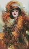 The Lure of the Green Eyes - Cross Stitch Chart