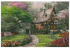 The Misty Lane Cottage - Cross Stitch Chart