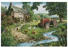 The Old Tractor - Cross Stitch Chart