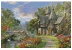 The Old Waterway Cottage - Cross Stitch Chart