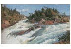 The Raging Rapids - Cross Stitch Chart
