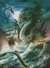 The Sea Serpent - Cross Stitch Chart