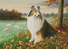 The Sentinel - Cross Stitch Chart