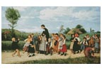 The Sunday School Walk - Cross Stitch Chart