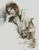 The Thinker - Cross Stitch Chart