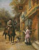 The Village Postman - Cross Stitch Chart