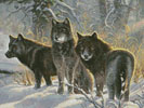 Three Amigos (Crop) - Cross Stitch Chart
