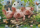 Three Little Pigs - Cross Stitch Chart