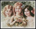 Three Sisters - Cross Stitch Chart