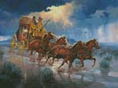 Thunder Road - Cross Stitch Chart