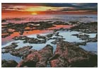 Tidal Pools Sunrise - Cross Stitch Chart