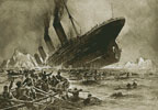 Titanic Sinking - Cross Stitch Chart
