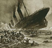 Titanic Sinking (Crop) - Cross Stitch Chart