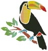 Toucan - Cross Stitch Chart