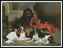 Toy Spaniels - Cross Stitch Chart