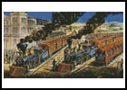 Trains - Cross Stitch Chart