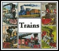 Train Sampler - Cross Stitch Chart