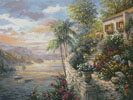 Tranquil Sea (Large) - Cross Stitch Chart