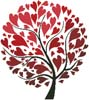 Tree of Hearts - Cross Stitch Chart
