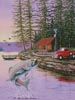 Trout Lake - Cross Stitch Chart