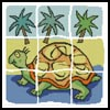 Turtle Design - Cross Stitch Chart