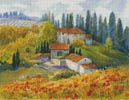 Tuscan Sunlight - Cross Stitch Chart