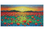 Twilight Poppies - Cross Stitch Chart