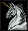 Unicorn - Cross Stitch Chart