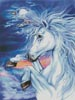 Unicorn in the Moonlight - Cross Stitch Chart