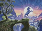 Unicorn Moon - Cross Stitch Chart