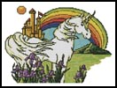 Unicorn Rainbow - Cross Stitch Chart