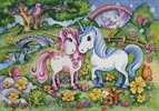 Unicorns - Cross Stitch Chart