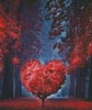 Valentine Heart Tree - Cross Stitch Chart