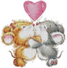 Valentine Mice - Cross Stitch Chart