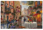 Venice Al Fresco - Cross Stitch Chart