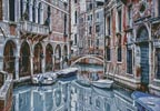 Venice Canal - Cross Stitch Chart