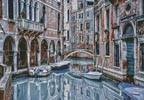 Venice Canal (Large) - Cross Stitch Chart