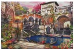 Venice Courtship - Cross Stitch Chart