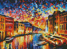 Venice Grand Canal - Cross Stitch Chart