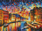 Venice Grand Canal (Large) - Cross Stitch Chart