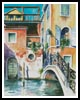 Venice Watercolour - Cross Stitch Chart
