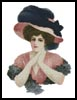 Victorian Belle - Cross Stitch Chart
