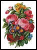 Victorian Bouquet - Cross Stitch Chart