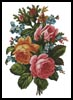 Victorian Bouquet 2 - Cross Stitch Chart
