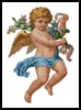 Victorian Cherub - Cross Stitch Chart