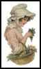 Victorian Flower - Cross Stitch Chart