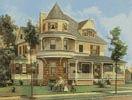 Victorian House 2 - Cross Stitch Chart