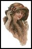 Victorian Lady 2 - Cross Stitch Chart